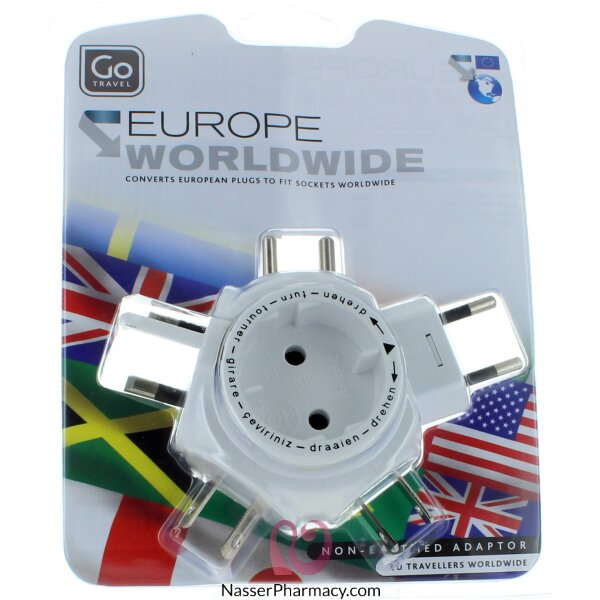 Go Multi Adaptor Europe To Worldwide