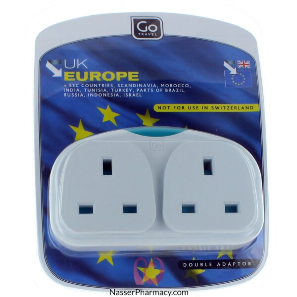 Go Travel Double Adapter