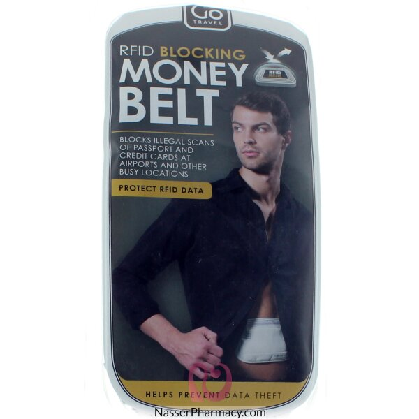 Go Travel Money Belt Rfid Blocking