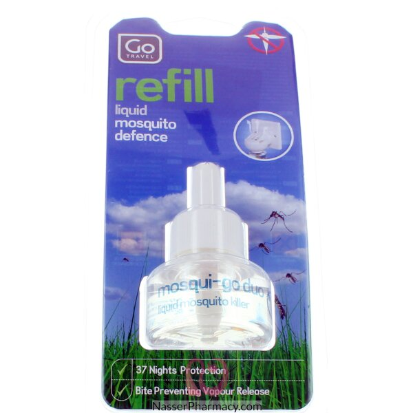 Go Travel Refill Liquid Mosquito Defence