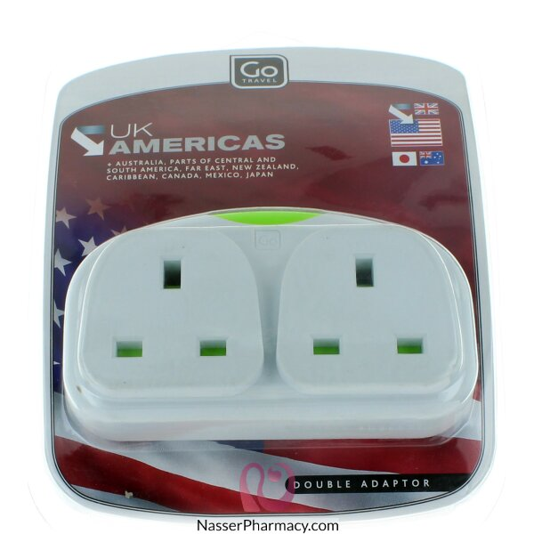 Go Usa Double Adaptor
