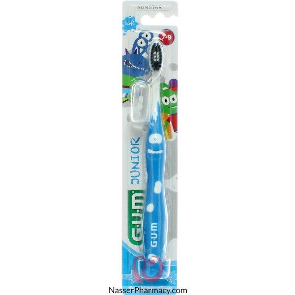جم Gum  فرشاة الأسنان برسومات مرحة للأطفال - من عمر 7 سنوات فما فوق