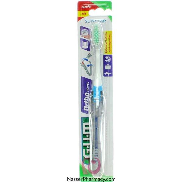 Gum Ortho Tooth Brush Travel - Soft