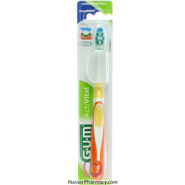 Gum T/brush Activital Med 583