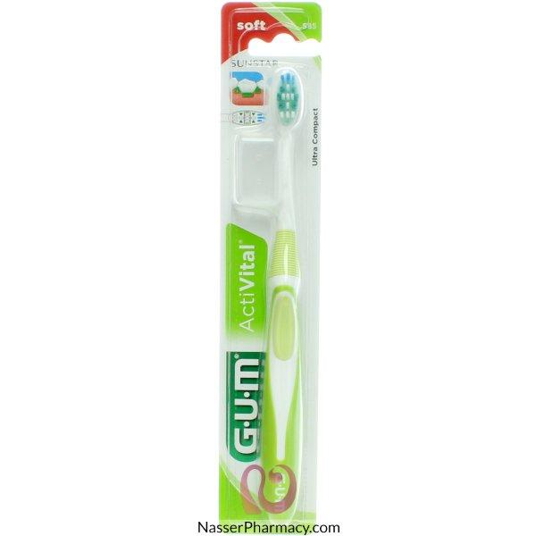 Gum T/brush Soft Activital-585