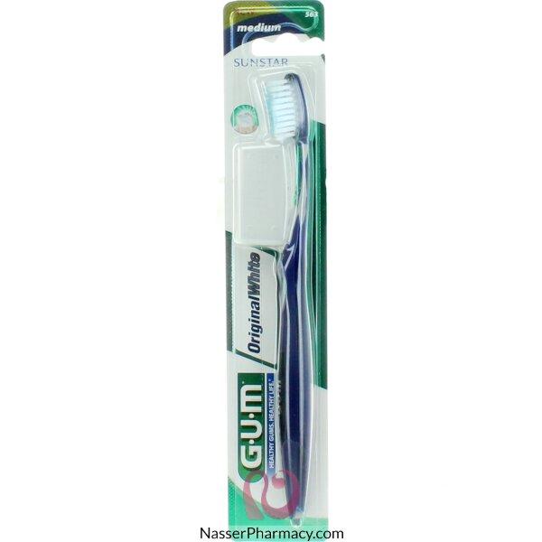 Gum Toothbrush Original White Medium