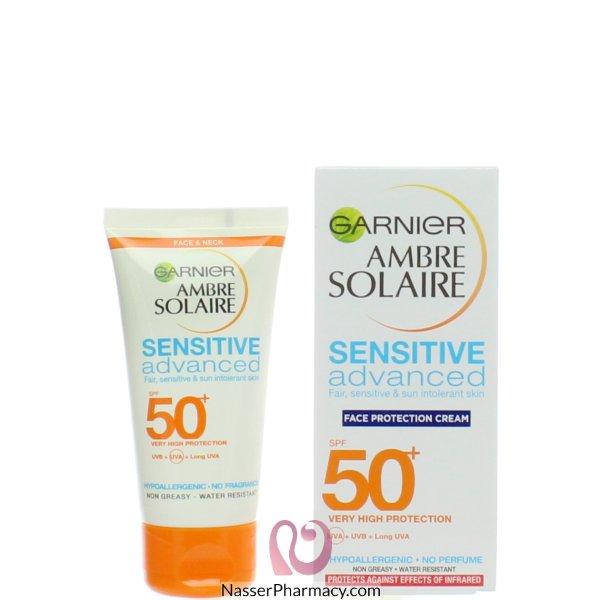 Ambre Solaire F/cream Sens Adv Spf50+ 50ml-65398