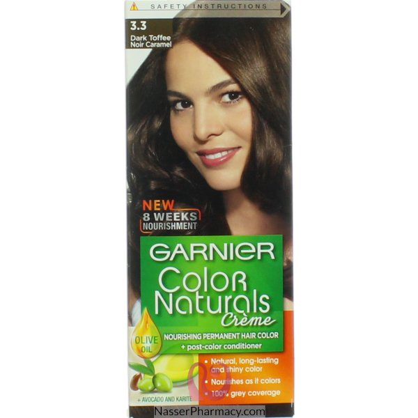 Garnier Col Naturals Toffee Brown Black 3.3