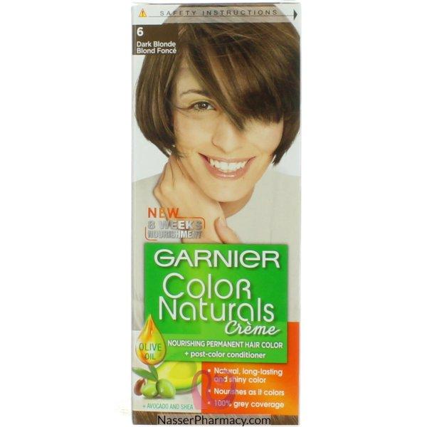 Garnier Col.naturals 6 Dark Blond