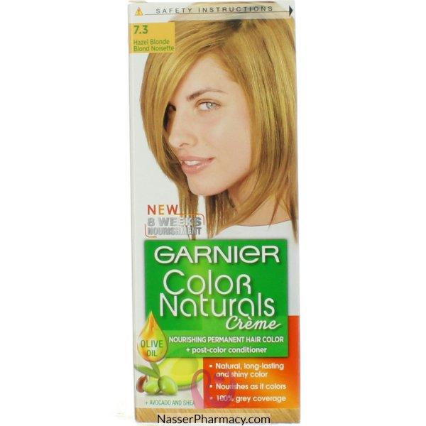 Garnier Col.naturals 7.3 Hazel Blonde تيست