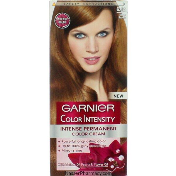 Garnier Color Intensity Cream  6.42 Dates Brown