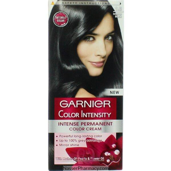Garnier Color Intensity Cream Black 1.0