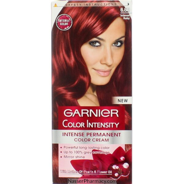 Garnier Color Intensity Cream  Intense Ruby 6.60