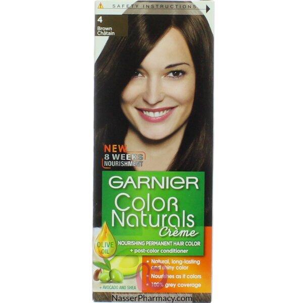 Garnier Color Naturals Cream 4 Brown