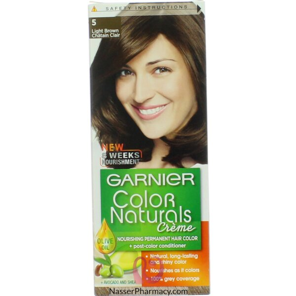 Garnier Color Naturals Cream 5 Light Brown