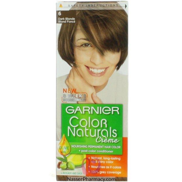 Garnier Color Naturals Cream  6 Dark Blond