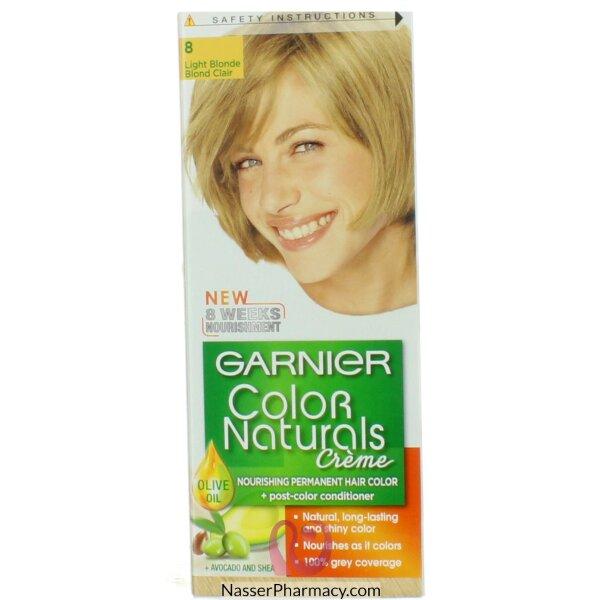 Garnier Color Naturals Cream  8 Light Blond
