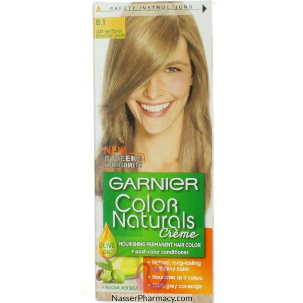 Garnier Color Naturals Cream 8.1 Light Ash Blond