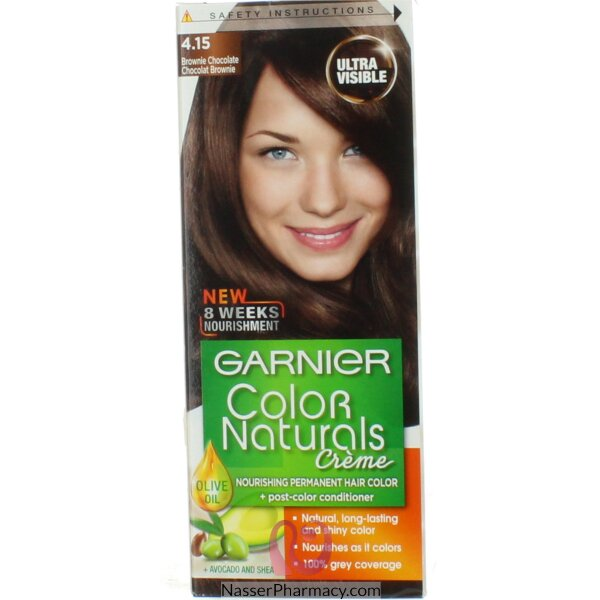 Garnier Color Naturals Cream  Brownie Chocolate 4.15