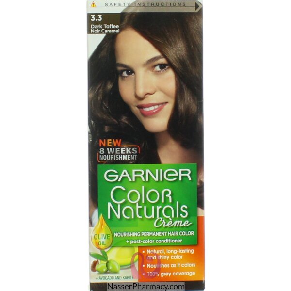Garnier Color Naturals Cream Dark Toffee  3.3