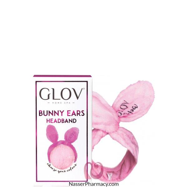 جلوف  Glov - رباط للرأس بأذني أرنب وردية