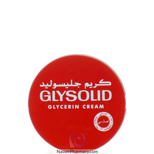 جليسوليد Glysolid  كريم جليسرين 250 مل