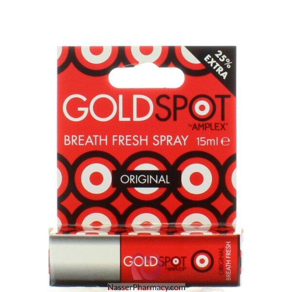 جولد سبوت Gold Spot  سبراي منعش لرائحة الفم الكريهة  15 مل