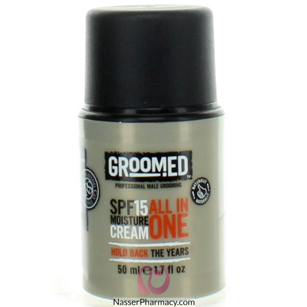 Groomed Spf15 Moist 50ml-gr1503