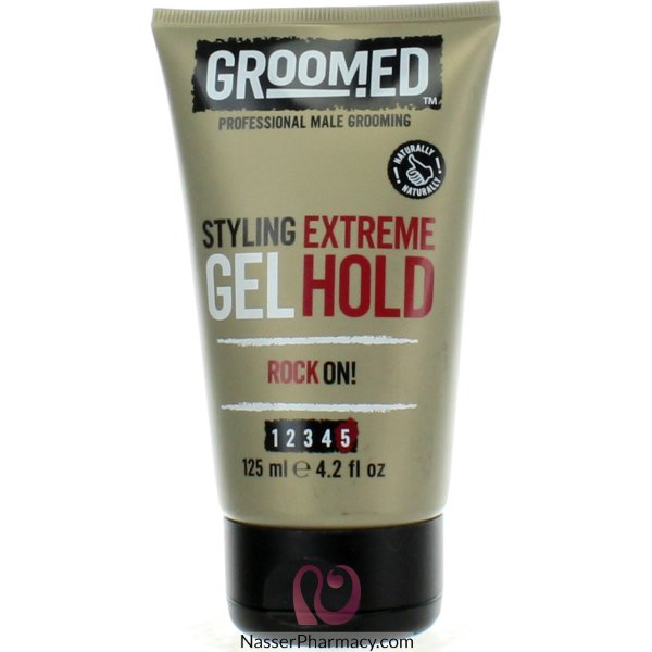 Groomed Ultra Hold H/gel 125ml-gr1510
