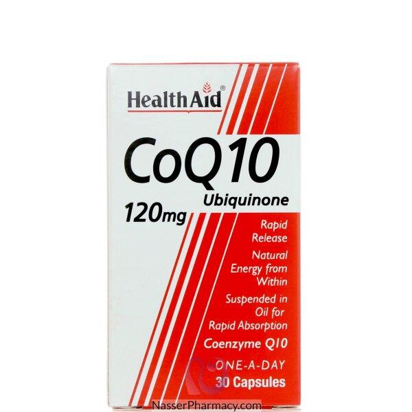 هيلث ايد  Health Aid كو كيو 10 120 مجم - 30 كبسولة
