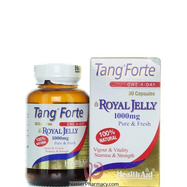 هيلث ايد Health Aid Tang Forte  رويال جيلي 1000مجم - 30 كبسولة