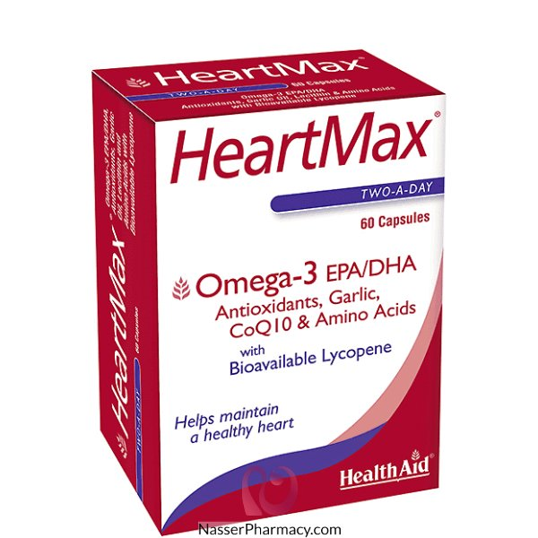 Ha Heartmax Cap 60&#39s