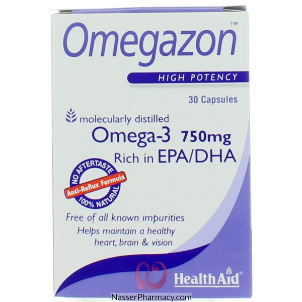 Health Aid  Omegazon Capsules 30' Capsules