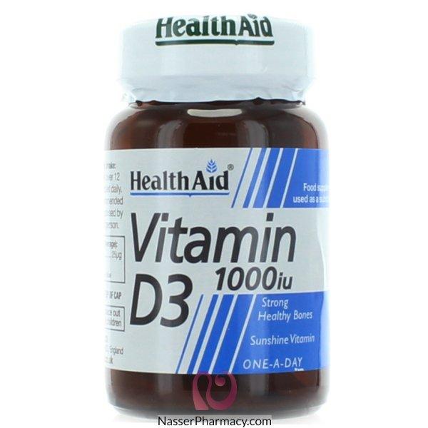 Health Aid Vit D3 1000 Iu - 30tablets