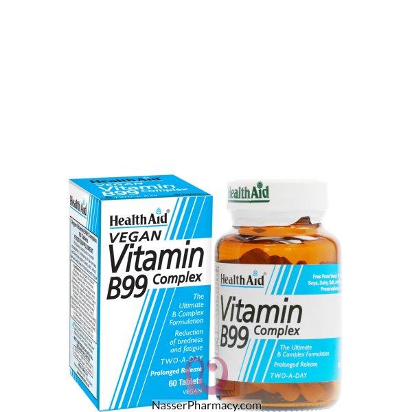 Health Aid Vitamine B99 Comp Pr Tab 60 S