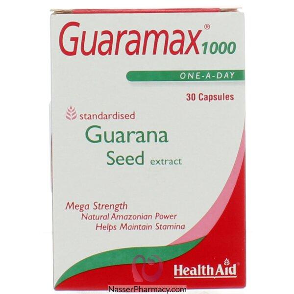 Healthaid Guaramax 1000 30\'s Capsules