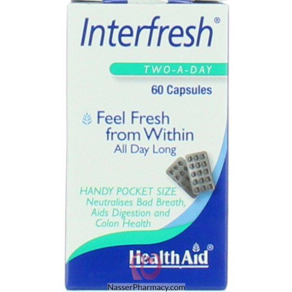Healthaid Interfresh 60's Capsules