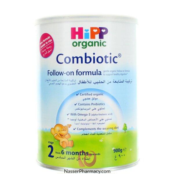 هيب Hipp   حليب الأطفال العضوي بتركيبة المتابعة  - 900 غرام