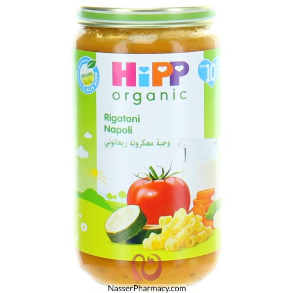 هيب Hipp ريجاتوني نابولي من مكونات عضوية 250غرام