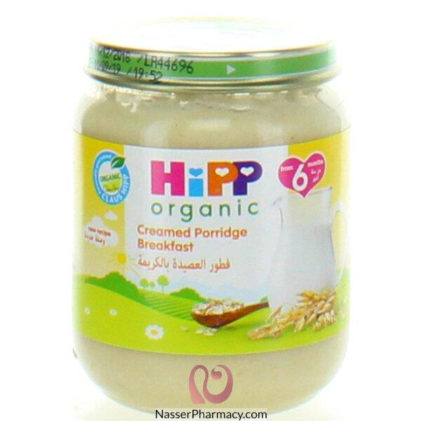هيب  Hipp عصيدة بالقشدة للإفطار من مكونات عضوية 125غرام