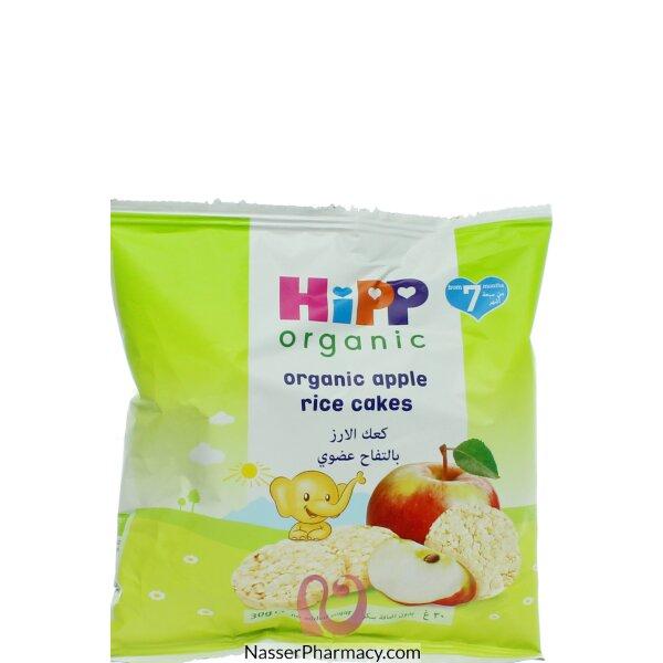 هيب Hipp  كعك الأرز والتفاح 40 جرام