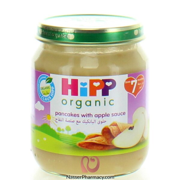Hipp Pancakes With Apple Sauce 200g