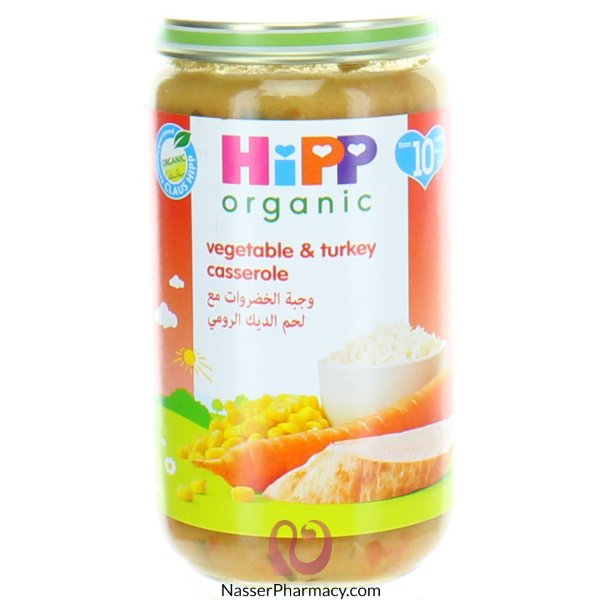 Hipp Vegie & Turkey Casserole -250g