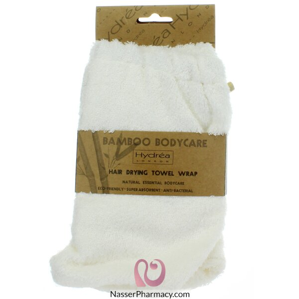 Hydréa London Bamboo Hair Drying Wrap - Super Soft Texture