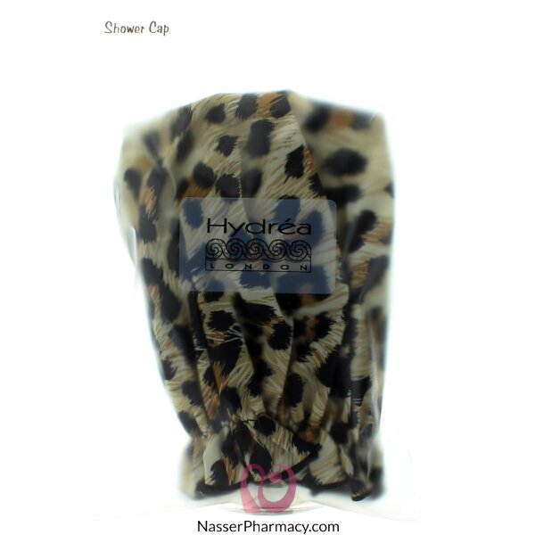 Hydrea London Eco Friendly Shower Cap Leopard