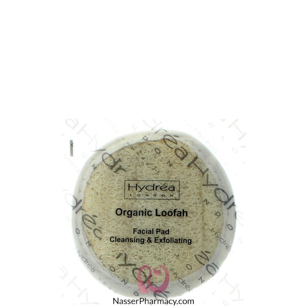 Hydrea London Loofah Facial Cleansing & Exfoliating Pad