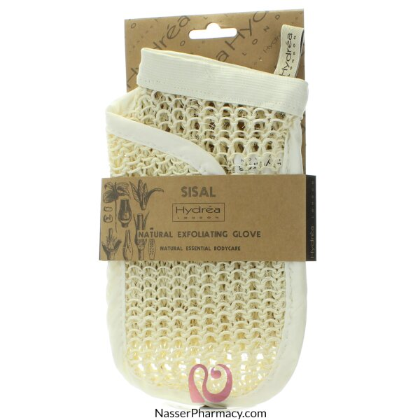 Hydrea London Natural Sisal Exfoliating Glove