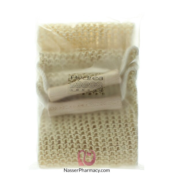 Hydrea London Natural Sisal Massage Exfoliating Back Strap