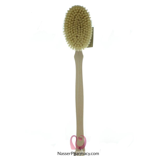 Hydrea London Professional Body Brush With Natural Bristle Wsh13n