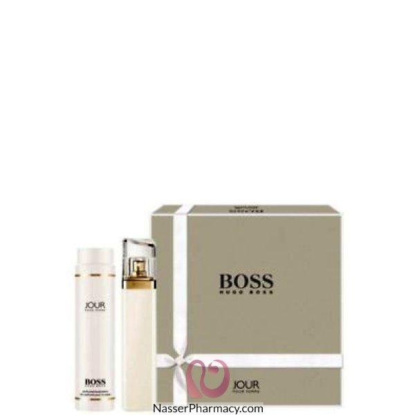 هوجو بوس Hugo Boss Jour Pour عطر للنساء 75 مل + لوشن للجسم 200 مل